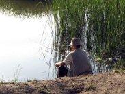 Рыбалка на пруду!